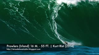 BIGGEST WAVES EVER SURFED IN HISTORY 2017 -2021