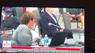 President Trump Speaks to Arizona Legislature Public Hearing