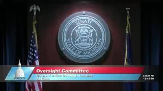 Dominion Voting Systems CEO Testifies to Michigan Legislature