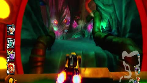 Deep Sea Driving Nintendo Switch Gameplay - Crash Team Racing Nitro-Fueled