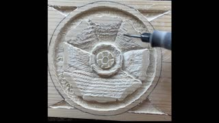 Relief Carving Flower