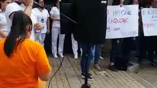 Video: En Bucaramanga protestan en contra de la liquidación de la Eps SaludVida