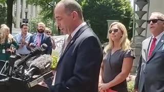 Leftists Freak At Majorie Taylor Green, Political Prisoners, Press Conference