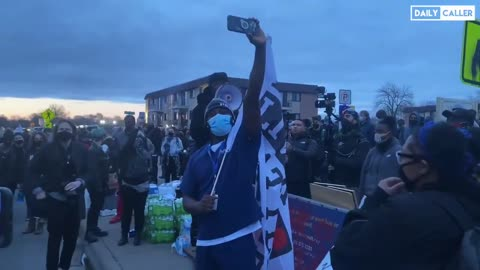 In Angry Rant, BLM Leader RIPS Biden to Crowd, Calls for Boycotting the Next Election