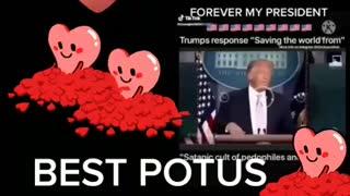 Trump saving the world best president ever