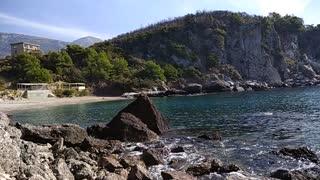 Montenegro, Sutomore, beach, Adriatic