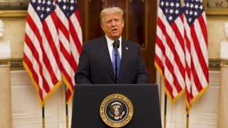 Trump says Goodbye