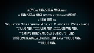 Krav Maga Counter Terrorism, Active Shooter Workshop