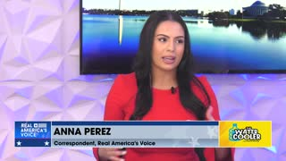 Anna Perez, Real America's Voice Correspondent on news of the day