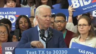 Joe Biden Stumbles Over His words