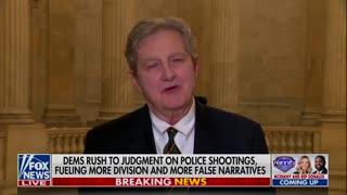 Senator John Kennedy Attacks Anti-Cop Media Bias