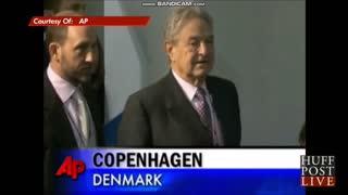George Soros and Magnus Heunicke