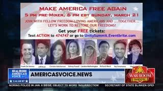 Make America Free Again Summit Kicks Off March 21