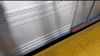 NYC subway system still running during covid