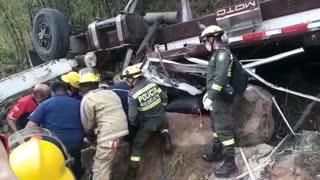 Accidente vía al Aeropuerto Palonegro