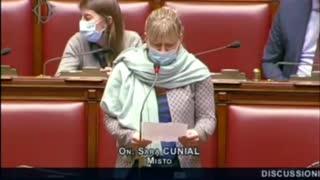 Sara Cunial Fiducia al Governo Draghi: la mia dichiarazione di voto 18/02/2021.
