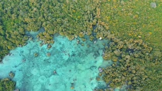 Relaxing, Soothing drone footage of Beautiful Beaches