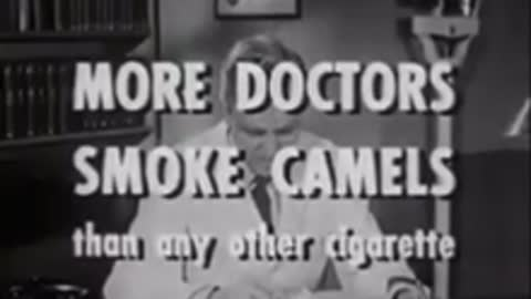 commercial From 1953 what cigarette will the Dr choose