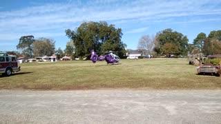 Novant Health Helicopter Landing