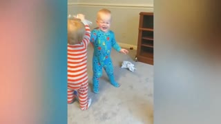 Cute Baby Funny Moments With Family