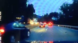 Dashcam crash on Highway 17 North