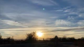 Sunset 1/4/2021 Quartzite Arizona