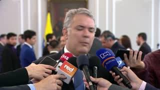 Duque habla sobre informe de la ONU