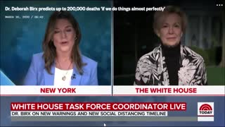 """Dr. Birx says 200,000 COVID deaths is """"if we do everything perfectly"""""""