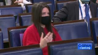 Jen Psaki gives press briefing
