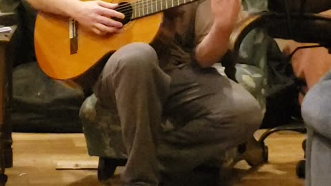Sam talks about guitar