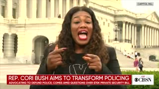 Cori Bush asked why she needs security if she is trying to defund the police