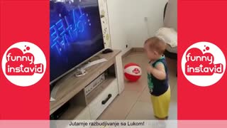 video of babies ,TRY NOT LAUGH OR GRIN while watching funny video