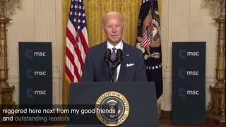 Biden drops N Bomb 02.21
