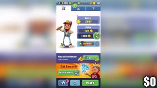 I tried to Make Money Playing Subway Surfers