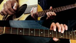 Clapton Style Acoustic Guitar Blues Lick - Blues Guitar Lesson