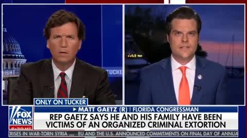 Congressman Matt Gaetz Slams False Allegations of Misconduct, Exposes Extortion Plot