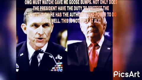 Flynn wow must watch. Seems very confident