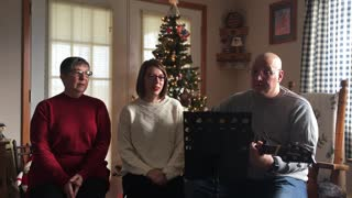 Christmas Recording Behind The Scenes