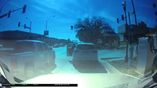 Child Rides into Car While Crossing Intersection