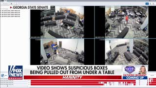 Hannity: New video shows suspicious activity in Nevada, Georgia