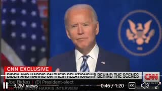 Joe Biden Asked What Would Happen If He and Krooked Kamala Disagree