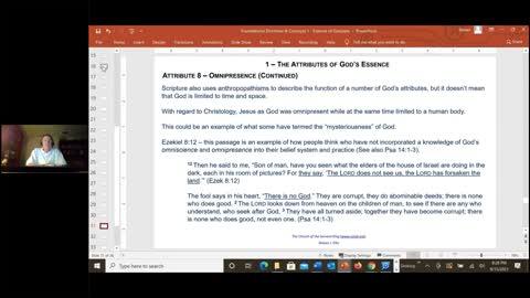 The Essence of God – Omniscience, Omnipotence, Omnipresence, Veracity