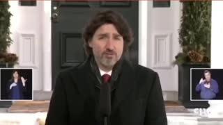 Justin Trudeau Freudian slip