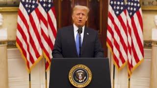 President Donald J. Trump farewell speech.