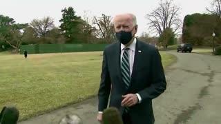 Joe Biden je virtuální prezident USA, video dokazuje CGI fotomontáž tiskovky Joe Bidena!