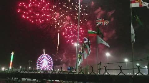Daytona 24 hour fireworks