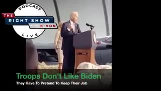 Biden rude to graduating military