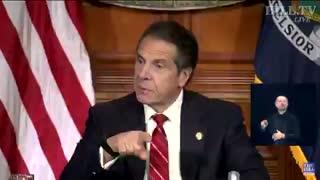 Governor Cuomo having a meltdown