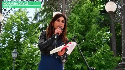 NO PAURA DAY 23, Cesena 15/5/2021, intervento di Angela Camuso, giornalista
