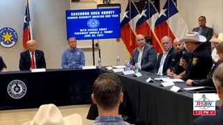 FULL VIDEO: Trump Visits US-Mexico Border At Weslaco, Texas For Security Briefing